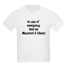 Feed me Macaroni & Cheese T-Shirt
