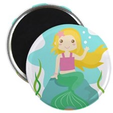 Cute and Beautiful Mermaid under the sea Magnets