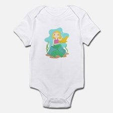 Cute and Beautiful Mermaid under the sea Body Suit