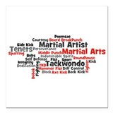 Tkd Square Car Magnets