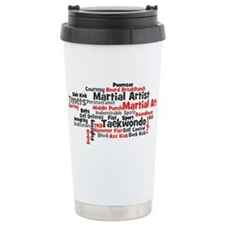 Martial Arts Taekwondo Travel Mug