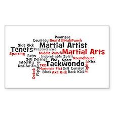 Martial Arts Taekwondo Decal
