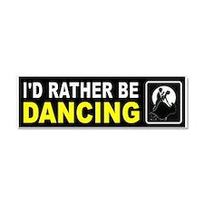 DANCING Car Magnet 10 X 3