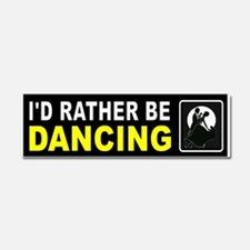 DANCING Car Magnet 10 X 3