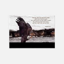 ISAIAH 40:31 EAGLE WINGS 5'x7'Area Rug