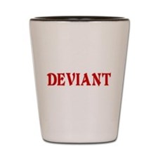 Deviant Adult Humor Shot Glass
