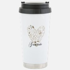 Gratitude Heart Travel Mug