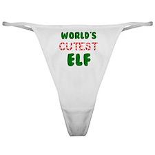 Worlds CUTEST Elf! Classic Thong