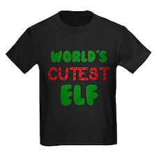Worlds CUTEST Elf! T-Shirt