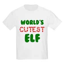 Worlds CUTEST Elf! T-Shirt