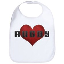 Love Rugby Leather Finish Look Bib