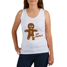Oh Snap Gingerbread Tank Top