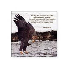 ISAIAH 40:31 WINGED EAGLES Sticker