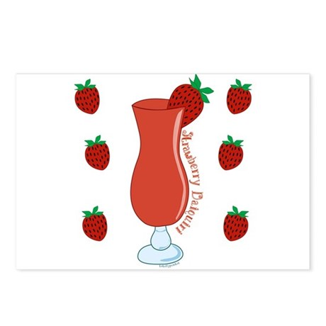 Strawberry Daiquiri Postcards (Package of 8)