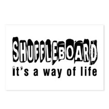 Shuffleboard it is a way of life Postcards (Packag