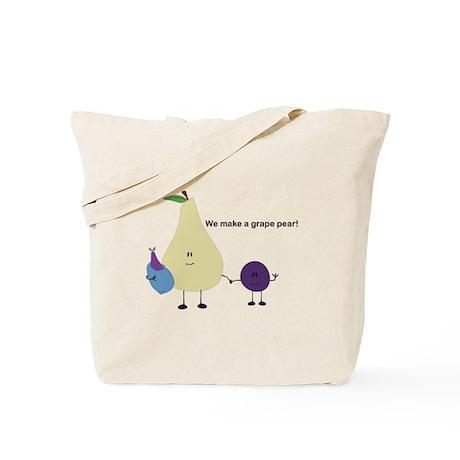 Grape Pear Tote Bag