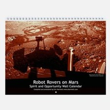 Mars Rovers small wall calendar