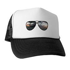 Hawaii Sunglasses Trucker Hat
