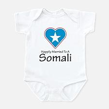 Happily Married Somali Infant Bodysuit