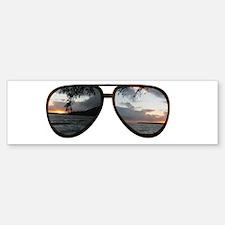 Hawaii Sunglasses Bumper Bumper Bumper Sticker
