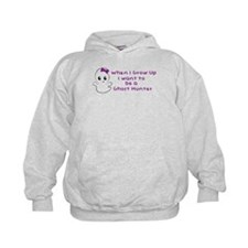 Girl Hoodie I Wanna Be A Ghost Hunter