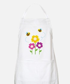 Bees with Flowers Apron
