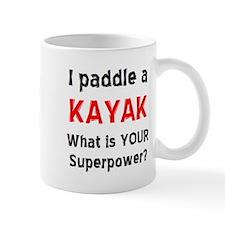paddle kayak Small Mug