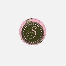 Pink woodland camo Custom Mini Button