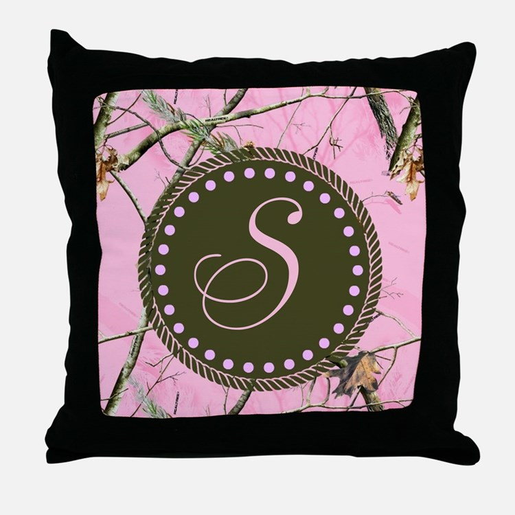 Camo Couch Throw Pillows : Pink Camouflage Pillows, Pink Camouflage Throw Pillows & Decorative Couch Pillows