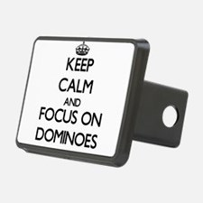 Keep calm and focus on Dominoes Hitch Cover