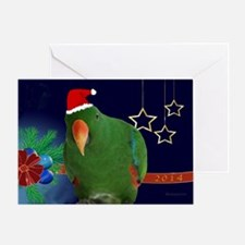 Parrot Christmas Greeting Cards