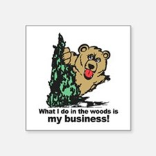 The Pooping Bear Sticker