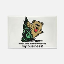 The Pooping Bear Magnets