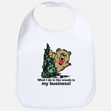 The Pooping Bear Bib