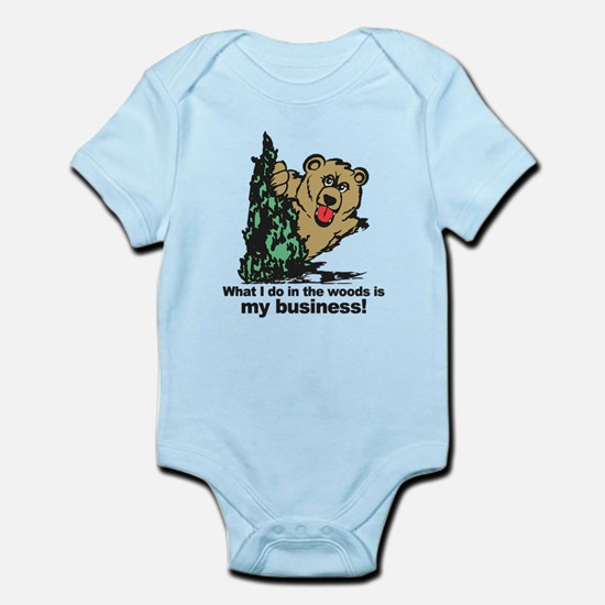 The Pooping Bear Body Suit