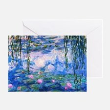 Monet's Water Lilies Greeting Card