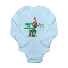 Baby's 1st Christmas reindeer Long Sleeve Infant B