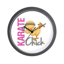 Karate Chick 2 Wall Clock