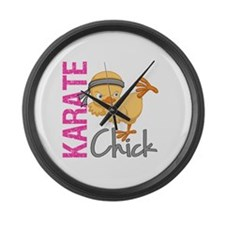 Karate Chick 2 Large Wall Clock