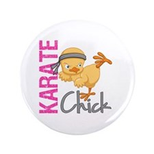 """Karate Chick 2 3.5"""" Button (100 pack)"""