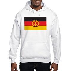 East Germany Flag Hoodie