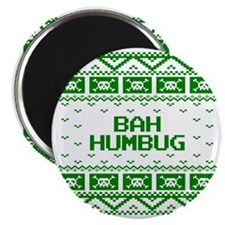 Bah Humbug Ugly Christmas Sweater Magnet