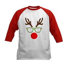 Hipster Reindeer Baseball Jersey