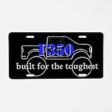 F350 Aluminum License Plate