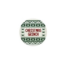 Christmas Grinch Funny Ugly Christmas  Mini Button