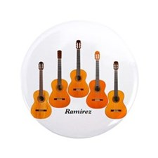 "Ramirez Acoustic Classical Flamenco Guitar 3.5"" Bu"