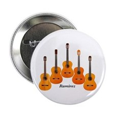 "Ramirez Acoustic Classical Flamenco Guitar 2.25"" B"