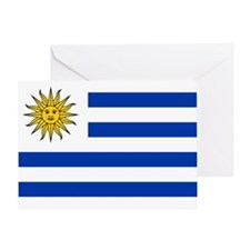 Uruguay Flag Greeting Card