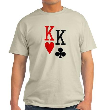 Pocket Kings Poker Light T-Shirt