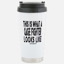 Cute Fighter inside Travel Mug